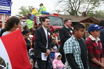 Pastor David Vasquez, Bishop Steven Ullestad, marchers