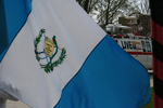 Guatemalan flag by Julie Berg-Raymond