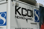 KCOI news van by Julie Berg-Raymond