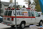KCRG news van by Julie Berg-Raymond