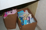 Bathroom supply donations 02 by Julie Berg-Raymond