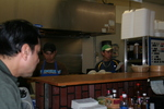 Workers at Sabor Latino 02 by Julie Berg-Raymond