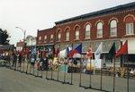 Taste of Postville flags