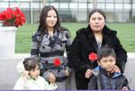 08- Family with red flowers by Araceli M. Castañeda