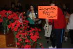 54- Red flowers immigration reform now by Araceli M. Castañeda