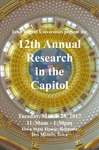 12th Annual Research in the Capitol [Program], March 28, 2017