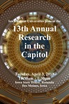 13th Annual Research in the Capitol [Program], April 3, 2018