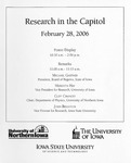 Research in the Capitol [Program], February 28, 2006