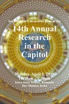14th Annual Research in the Capitol [Program], April 1, 2019