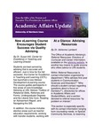 Academic Affairs Update, October 2015