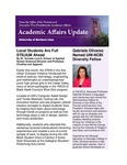 Academic Affairs Update, February 2016