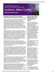 Academic Affairs Update, August 2014 by University of Northern Iowa. Office of the Provost and Executive Vice President for Academic Affairs.