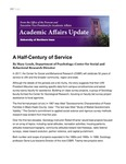 Academic Affairs Update, February 2017 by University of Northern Iowa. Office of the Provost and Executive Vice President for Academic Affairs.