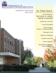 Philosophy & World Religions Department Newsletter, v5, Fall 2012