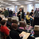 Artist Alley at the 2014 RodCon Mini Comi Con by University of Northern Iowa. Rod Library.