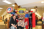 Attendees at the 2014 RodCon Mini Comi Con by University of Northern Iowa. Rod Library.