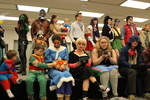 14 and over Costume Contest at the 2015 RodCon Mini Comi Con by University of Northern Iowa. Rod Library.