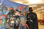 Plenty of photo opportunities at the 2015 RodCon Mini Comi Con by University of Northern Iowa. Rod Library.