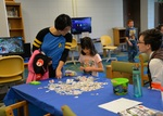 Kid Zone at the 2016 RodCon Mini Comi Con by University of Northern Iowa. Rod Library.