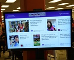 Tweetwall at the 2016 RodCon Mini Comi Con by University of Northern Iowa. Rod Library.