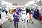 Stormtroppers at the 2017 RodCon Mini Comic Con by University of Northern Iowa. Rod Library.