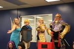 Adult Costume Contest by University of Northern Iowa. Rod Library.