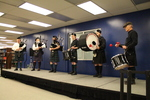 Cedar Glen Pipes and Drums by University of Northern Iowa. Rod Library.