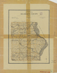 Topographical map of Allamakee County 1903