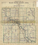 Official map of Black Hawk County by American Lithographing 1934