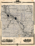 Map of Black Hawk County 1875 side 1