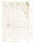 West Branch Quadrangle by USGS 1965