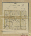 Topographical map of Chickasaw County 1903