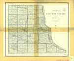 Topographical map of Clayton County 1903