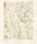 Leon Quadrangle by USGS 1964
