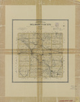 Topographical map of Delaware County 1903