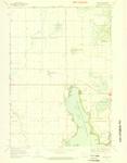Okoboji Quadrangle by USGS 1970