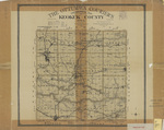 Topographical map of Keokuk County 1903