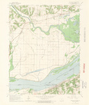 Dallas City Quadrangle by USGS 1964