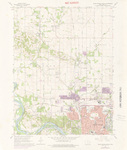 Cedar Rapids North Quadrangle by USGS 1975