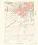 Cedar Rapids South Quadrangle by USGS 1967