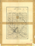 Topographical map of Linn County 1902