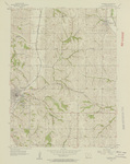 Glenwood Quadrangle by USGS 1956