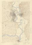 Omaha & Vicinity Quadrangle by USGS 1898