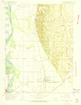 Pacific Junction Quadrangle by USGS 1969