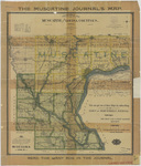 Topographical map of Muscatine & Louisa Counties 1902 by Iowa State Atlas Pub'l. Co.