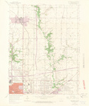 Des Moines NE Quadrangle by USGS 1967