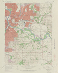 Des Moines SE Quadrangle by USGS 1967