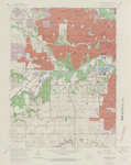 Des Moines SW Quadrangle by USGS 1967