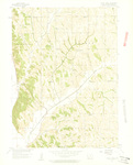 Honey Creek Quadrangle by USGS 1957