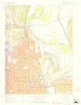 Omaha North Quadrangle by USGS 1975